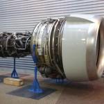 Studenten Deltion sleutelen aan gigantische  CF6-50 turbofan