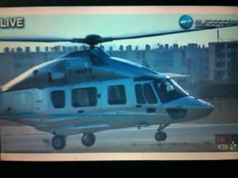Eurocopter EC175 Eerste vlucht