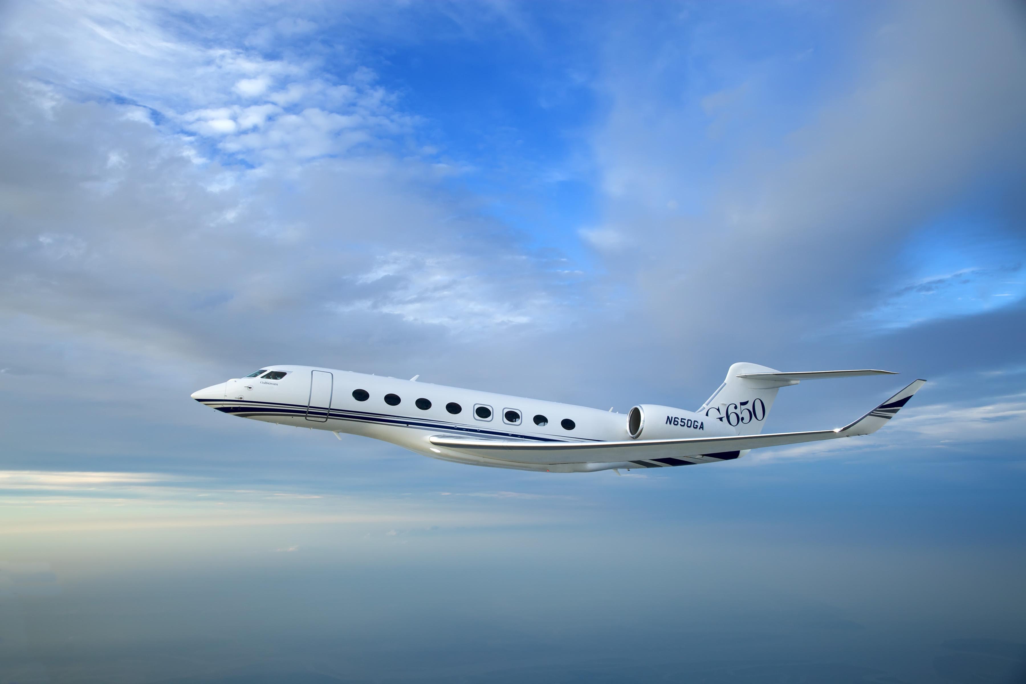Gulfstream G650 Voor Tyrolean Jet Services