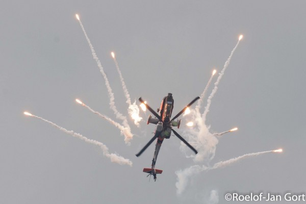 Nederlandse AH-64 Apache Demo Team