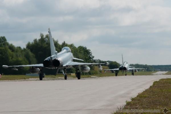 Eurofighter 30+03 & Eurofighter 30+05
