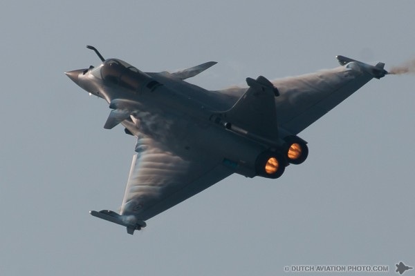 Franse Rafale Solo Display