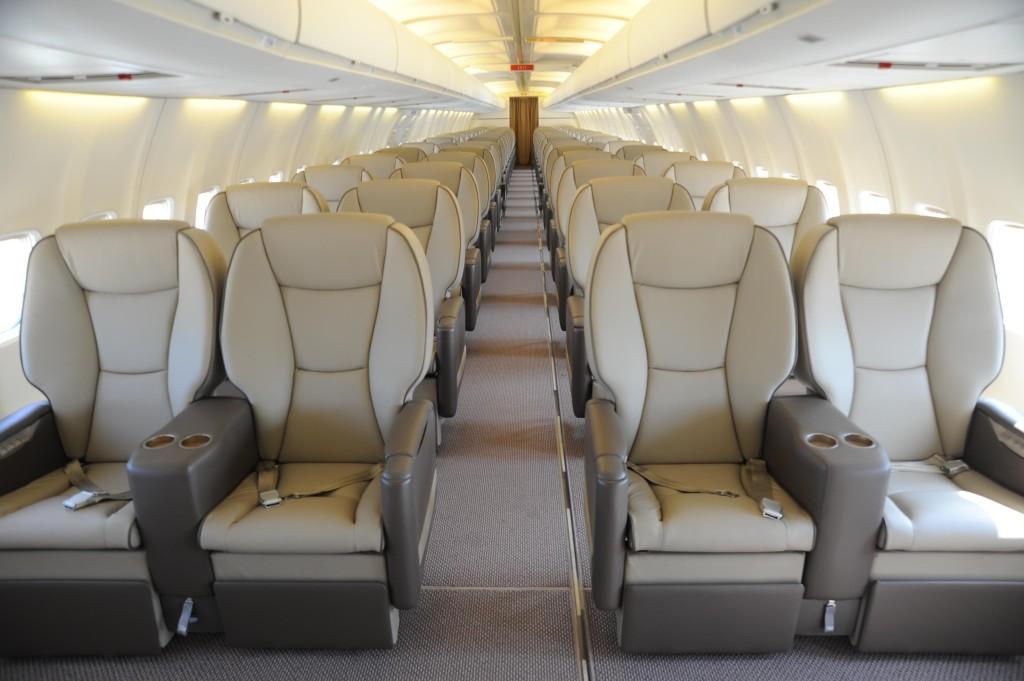 Luxe bestemming voormalige 737 400 klm for Interieur 737