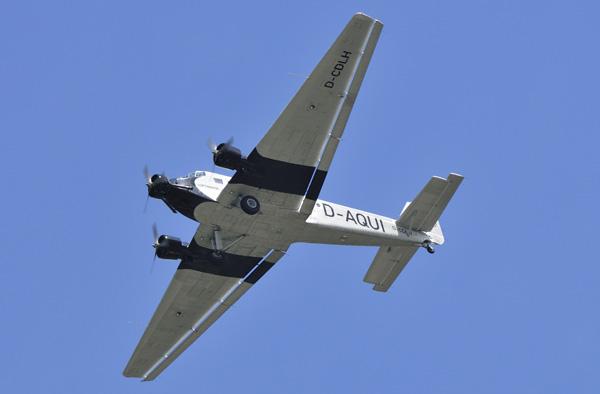 D-CDLH (1) Ju-52 Lufthansa R'dam 24-06-14