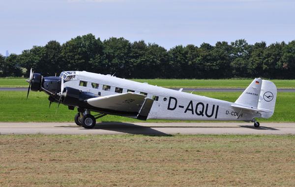 D-CDLH (4) Ju-52 Lufthansa R'dam 24-06-14