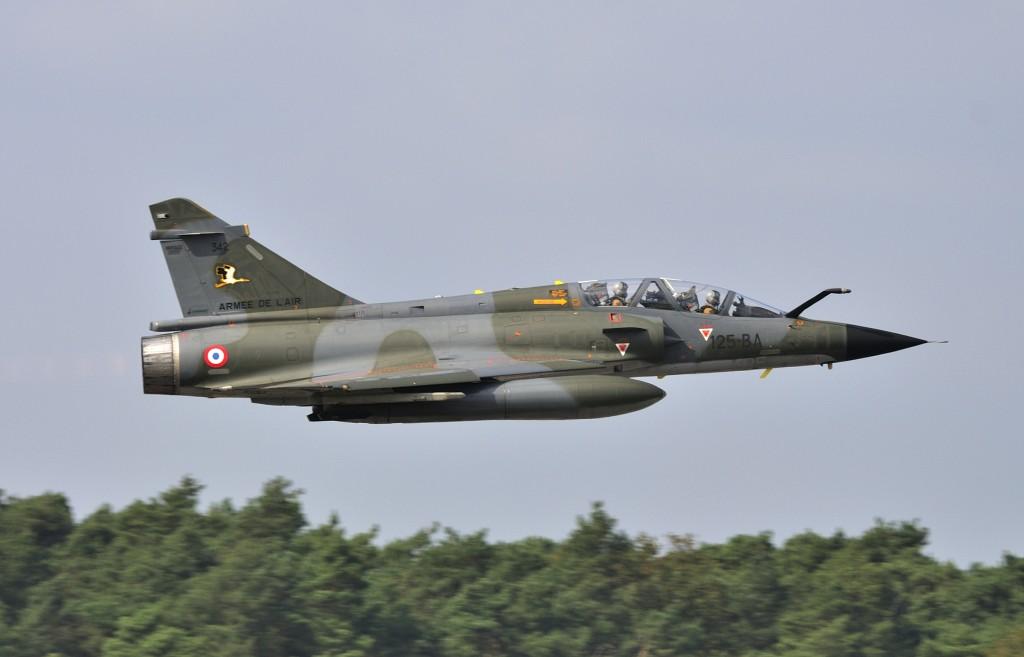In Frankrijk wordt de nucleaire rol uitgevoerd door de Mirage 2000N.