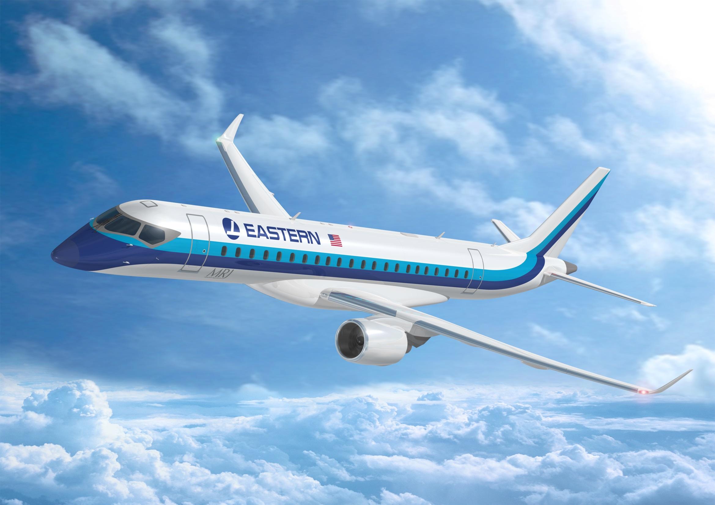 Eastern Air Lines zet intenties  om MRJ in order