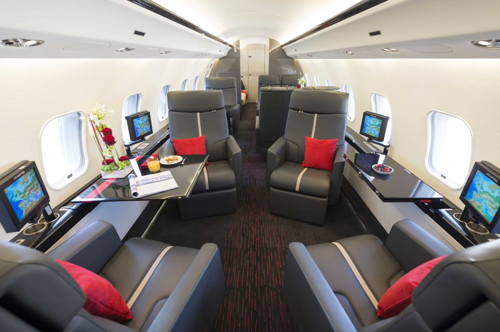 AMAC Aerospace interior refurbishment Bombardier Global Express