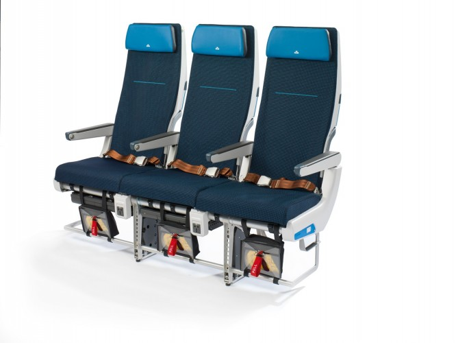 Klm pakt interieur boeing 777 200 aan for Interieur 777 300