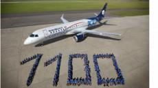 Embraer levert elfhonderdste E-Jet af - Piloot en Vliegtuig Magazine