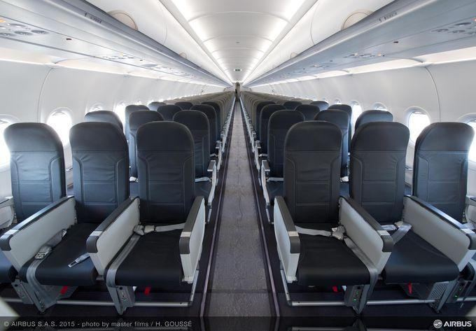 Eerste a320 space flex cabine voor vueling for What is flex space