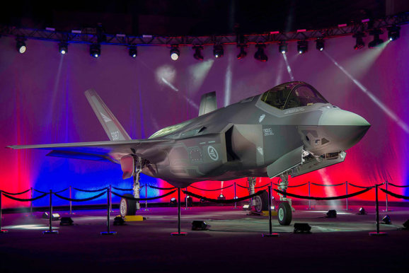 F-35A-AM-1-Rollout