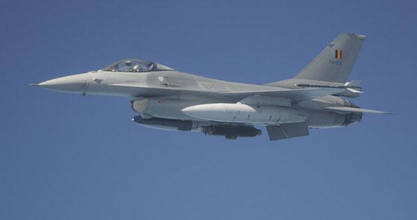 Belgische F-16AM.