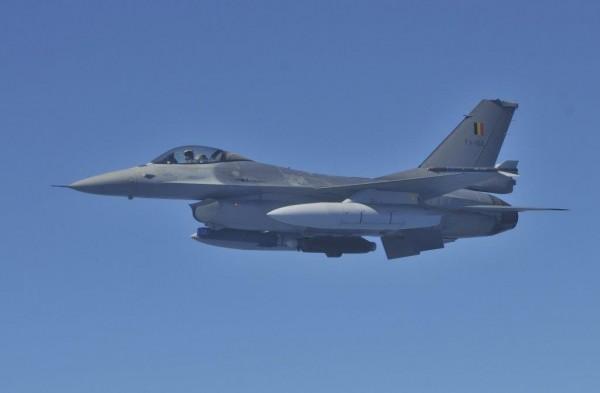 Belgische F-16AM  afkomstig van 349 squadron.