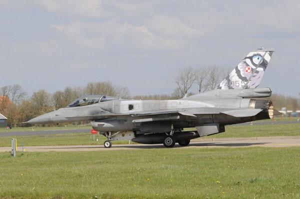 Poolse F-16C.