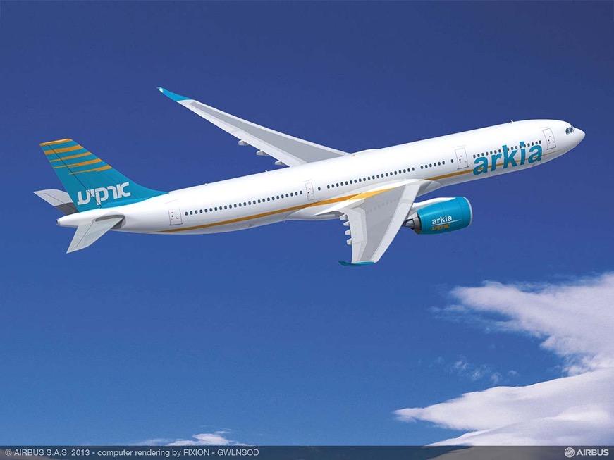 ARKIA_Israeli_Airlines_A330-900neo_