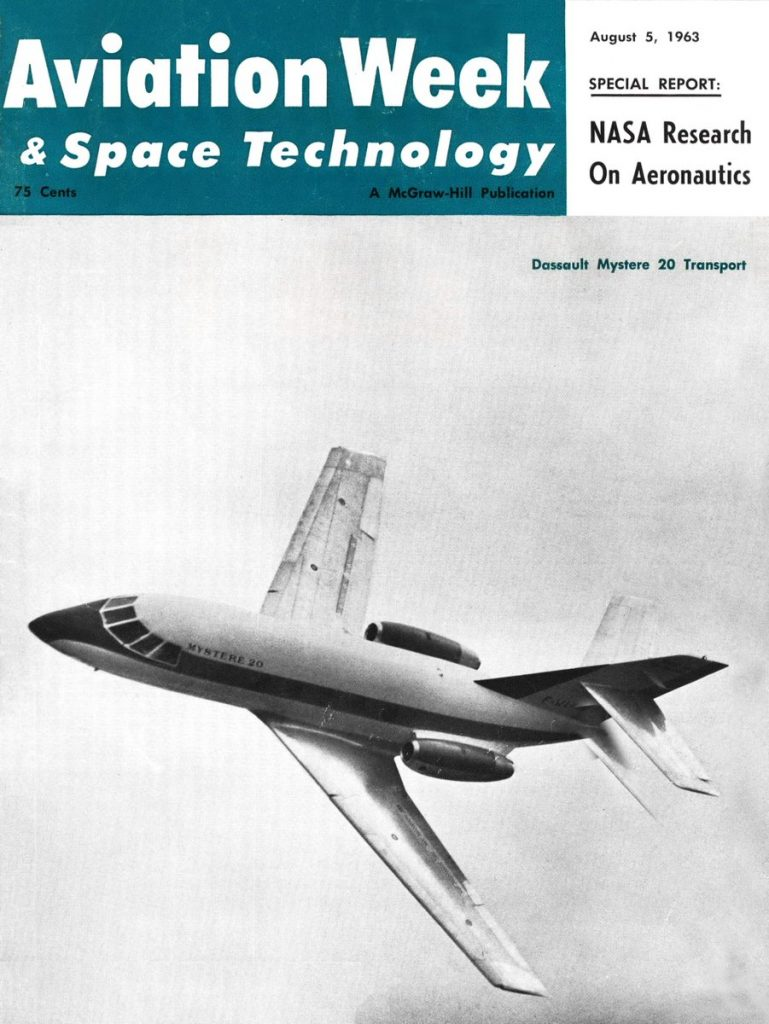 Dassault Mystère 20/Falcon 20: 55+ • Piloot & Vliegtuig