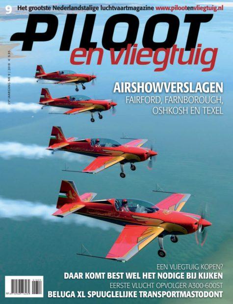 Piloot en Vliegtuig Editie 9-2018