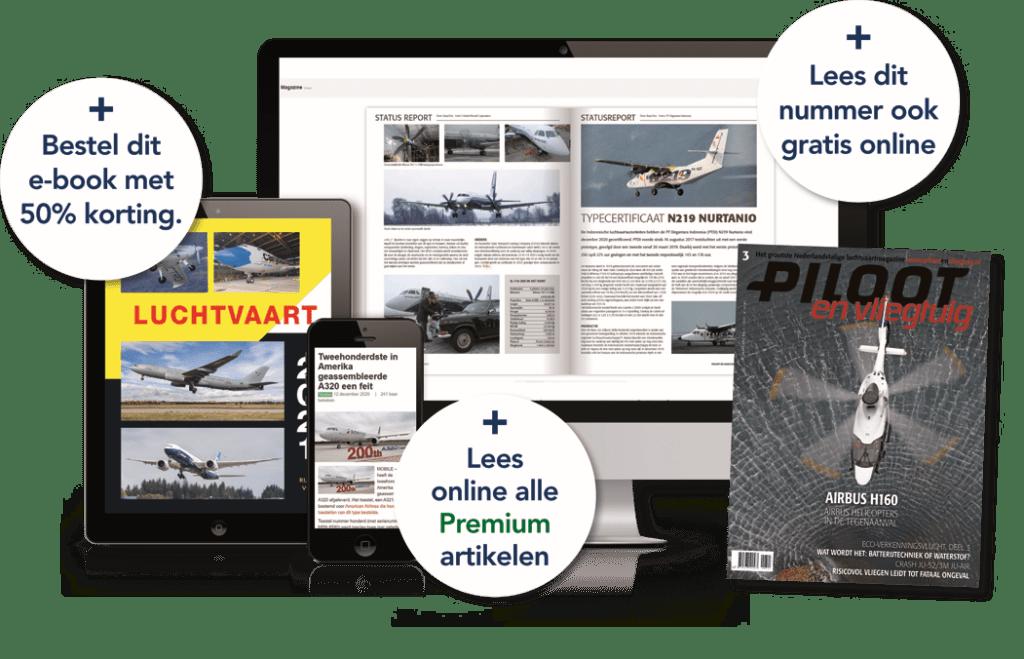 Extra's voor abonnees van Piloot en Vliegtuig