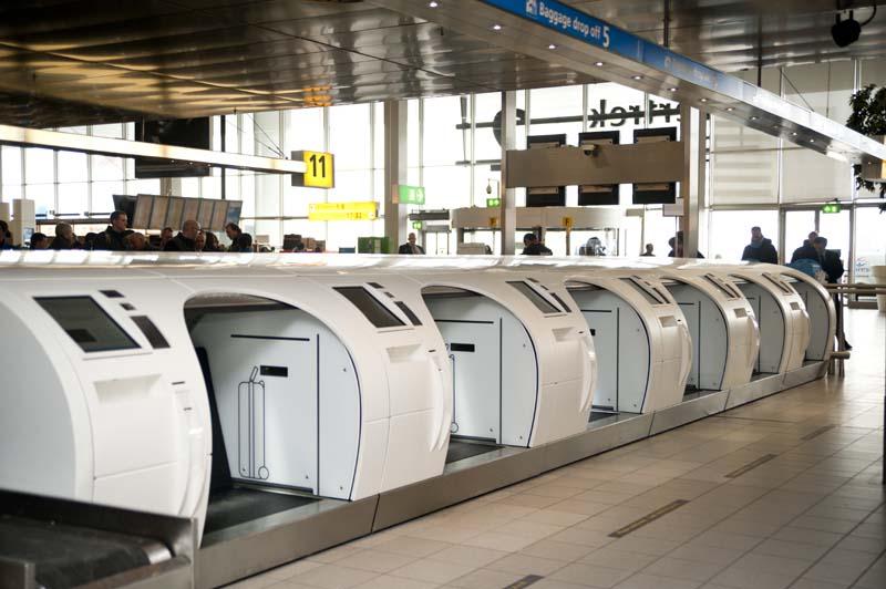 Schiphol breidt Self-Service Baggage Drop-Off units uit ...